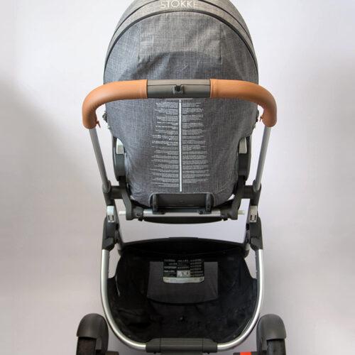 SONDERANFERTIGUNG: Griffschoner mit Zip - Kinderwagen mit 2-geteiltem Schaumstoffgriff