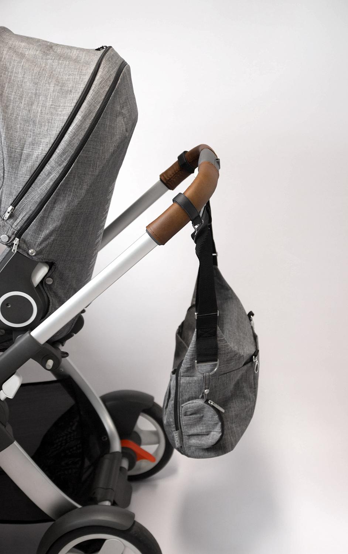 Kinderwagen Taschenhaken – offene Haken