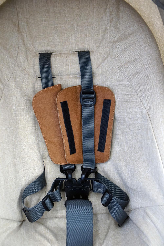 Stokke Stylekit Leder stylebug10 - Gurtpolster