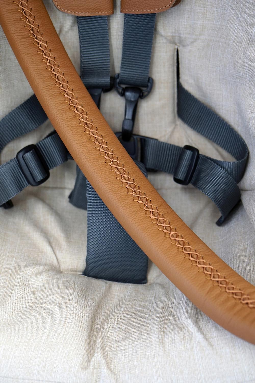 Stokke Stylekit Leder stylebug11 - Ledergriffe zum Schnüren