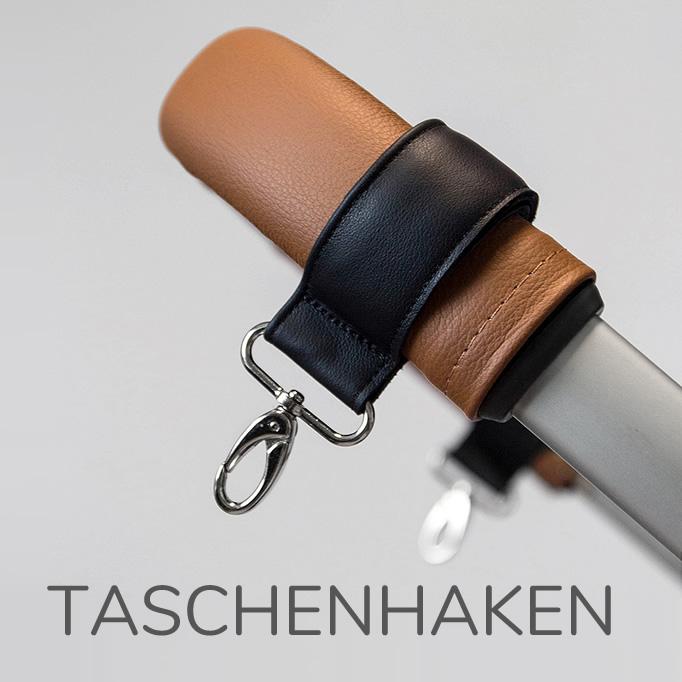 Taschenhaken Leder stylebug1 - Sortiment